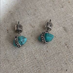 Medina Turquoise Stud Earrings